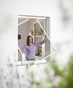 wirkungsvoller und schöner Insektenschutz für Drehtüren, Pendeltüren, Schiebetüren, Spannrahmen, Insektenschutzrollos, Abdeckungen von Lichtschächten